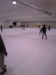 アイススケートなう